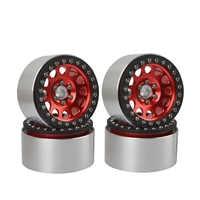 4 Uds 1/10 TRX-4 2,2 pulgadas Beadlock llantas para Traxxas TRX4 Axial SCX10 Wraith 90048 90018 RR10 KM2 RC Rock Crawler piezas