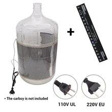 40 Вт ручный Электрический брожения Обёрточная бумага нагреватель 110v(UL) и 220 В(EU) разъем для домашнего пивоварения бутыль ферментер ведро Пиво Вино