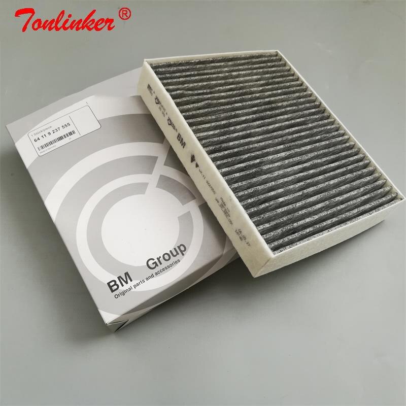 Filtr kabinowy dla Bmw 1 F20 F21 F22 F87 F23/Bmw F30 F80 F34 F31/Bmw 4 F33 F83 F32 F82 F36 filtr z węglem aktywnym akcesoria samochodowe