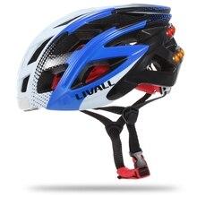 Smart Bike Cycling Helmet Bluetooth Lights Music Take Photo Sos Alert Sharing Bicycle Phone Answer(Blue+