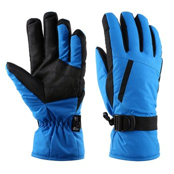 OUTAD Winter Outdoor Durable Soft Breathable Windproof & Waterproof Snow Ski Gloves Warm Mountain Climbing Gloves for Men image
