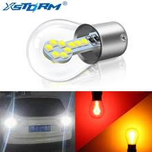 1156 BA15S P21W Led 1157 BAY15D P21/5W Led Bulbs R5W R10W 18SMD 800LM Car Fog Lights DRL Turn Signal Lamp 12V White Red Yellow(China)