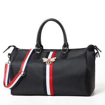 Travel bag waterproof large capacity hand luggage travel bee bag fashion women weekend travel handbag fitness sports bag Bags & Shoes