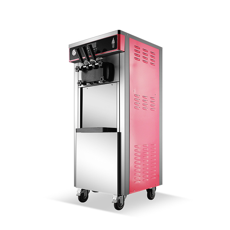 Commercial ice Cream machine Stainless Steel Sweet Tube Machine Production ice Cream Fully Automatic ice Cream Machine New Sell title=
