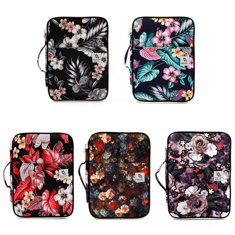 1PC Notebook Laptop Floral Handbag Sleeve Bag Carry Case For Macbook Air Pro 13