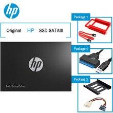 """Hp SSD жесткий диск SATA 2,"""" 120 ГБ 250 ГБ 240 ГБ 500 внешний твердотельный накопитель hdd 1 ТБ жесткого диска с стойку USB 3,0 адаптер кронштейн для ноутбука"""