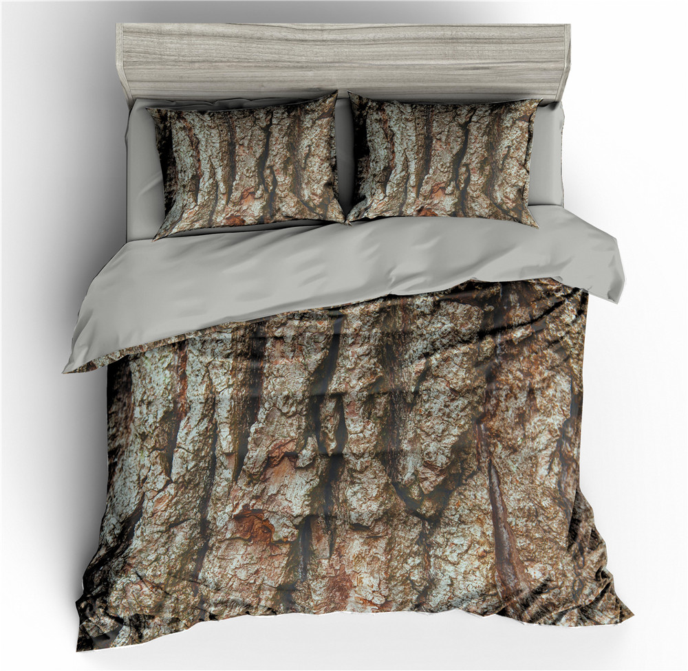 Tree Pattern 3D Bedding Set Duvet Cover Bed Comforter Sets Quilt Covers Pillowcase Sets Single/Twin/Full/Queen/King/Double Size