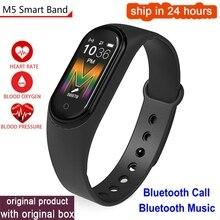 Health-Wristband Smart-Band Blood-Pressure Waterproof Men Bluetooth-Call/music Women