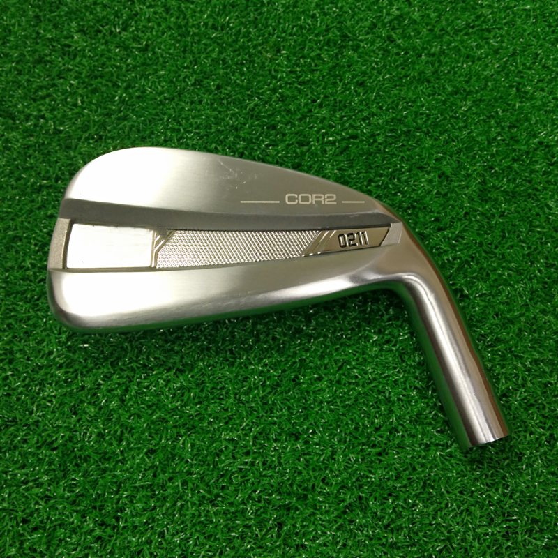 0211 Silver Irons Set 0211 Golf Forged Irons Golf Clubs 3-9WG R/S Flex Steel Shaft With Head Cover Free Shipping