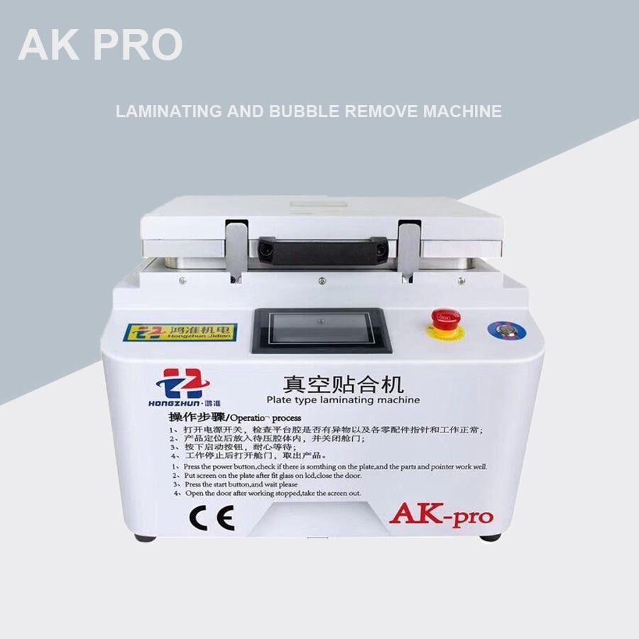 New Version AK PRO Oca Laminator Vacuum Lamination Machine Repair Lcd Refurbish Machine Oca Laminator Machine For Iphone S6 Edge