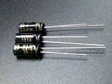 50PCS ELNA RBD 50V2.2UF 5X11MM black Non polar 50V 2.2UF audio electrolytic capacitor CE BP 2.2uF/50V BP 2.2uf 50v
