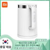 XIAOMI-hervidor de agua eléctrico MIJIA Pro, tetera de agua inoxidable de ebullición rápida, Control inteligente de temperatura, antisobrecalentamiento