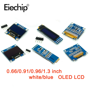 0.66/0.91/0.96/1.3 inch OLED module 128X32 OLED LCD LED Display Modules white/blue 0.91