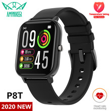 IP67 Waterproof Smartwatch P8T Monitoring Body-Temperature-Measurement Heart-Rate W26