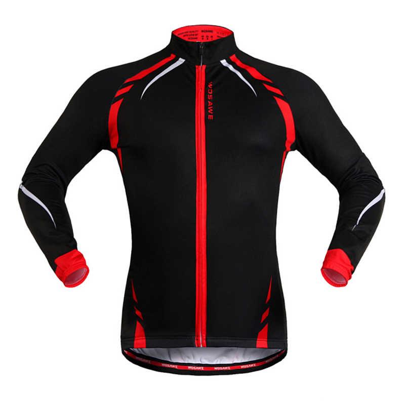 Herfst Winter Fietsen Jas Thermische Fleece Fiets Kleding Rijden Apparatuur Windjack Jas Winddicht Mtb Bike Jacket