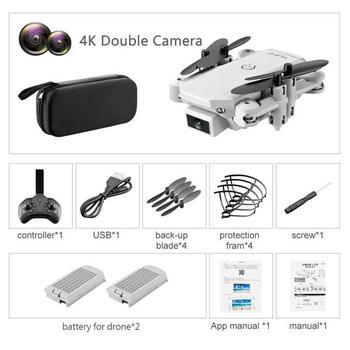 ZITY S66 FPV Mini Drone With Camera HD RC Foldable Drone 4K Professional Wifi Double Camera Drones Quadcopter RC Drone Mini Toys 12