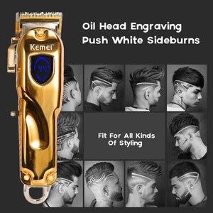 Image 5 - Kemei машинка для стрижки волос KM2600 электрический триммер для волос мощная машинка для бритья волос профессиональная машинка для стрижки волос электрическая бритва для бороды 5