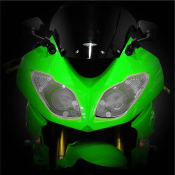 For Ninja ZX-6R ZX6R 2009-2016 2010 2011 2012 2013 2014 2015 Motorcycle Headlight Protection Cover Acrylic lens