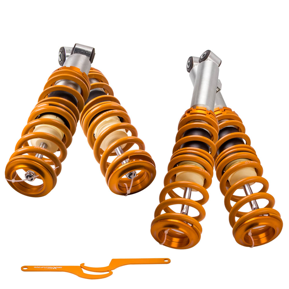 COILOVER kit Coil suspension Strut for <font><b>Mazda</b></font> <font><b>MX</b></font>-<font><b>5</b></font> MX5 <font><b>NA</b></font> MK1 Shock Absorbers Front rear Spring image