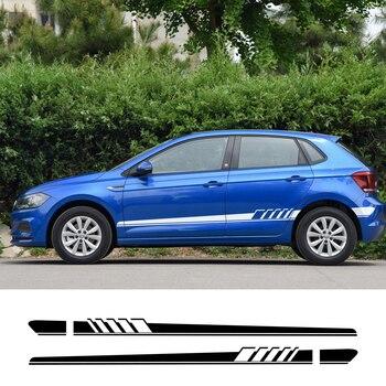 Для Volkswagen Polo, golf 4 6 7 Passat b4 b5 b6 b8 Touareg автомобильные наклейки Автомобильная виниловая пленка наклейка Стайлинг автомобиля Принадлежности для ...