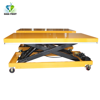 CE Certified Movable Hydraulic Pallet Lift