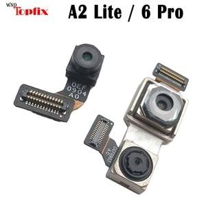 Image 1 - For Xiaomi Redmi 6 Pro Back Main Rear Big camera Small Front Camera Flex Cable Mi A2 lite Rear Camera A2 Lite Front Camera