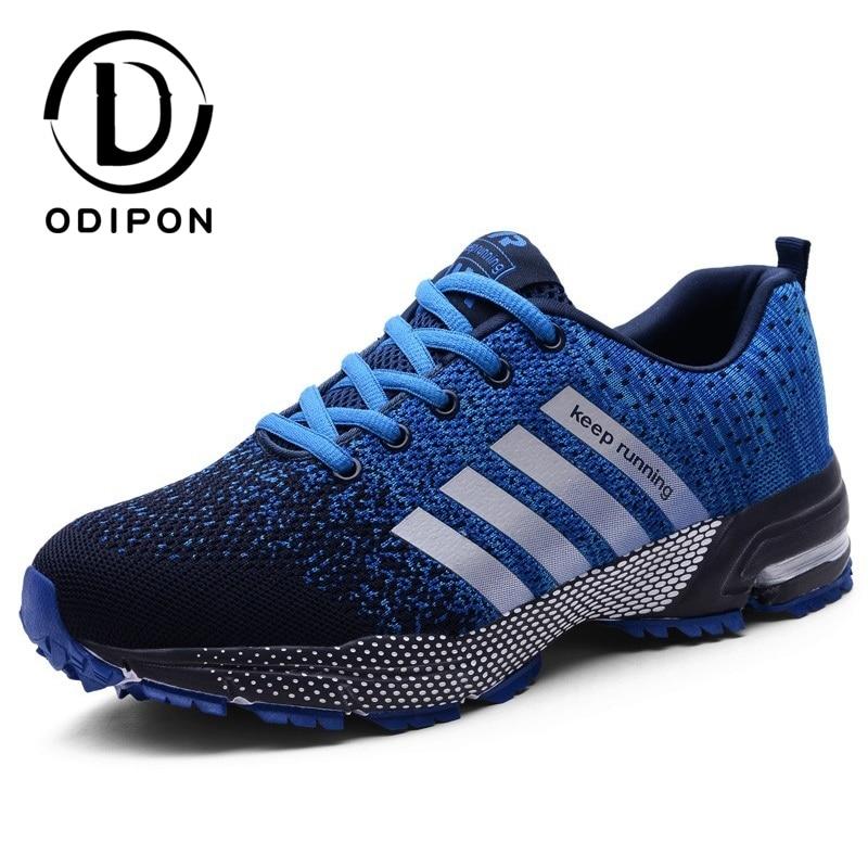 Модные мужские спортивные кроссовки для бега, воздухопроницаемые кроссовки для бега, Нескользящие мужские кроссовки, удобные кроссовки, об...