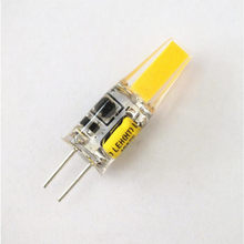 10pcs LED G4 Lamp Bulb AC DC Dimmable 12V 220V 6W COB SMD LED Lighting Replace Halogen Spotlight Chandelier