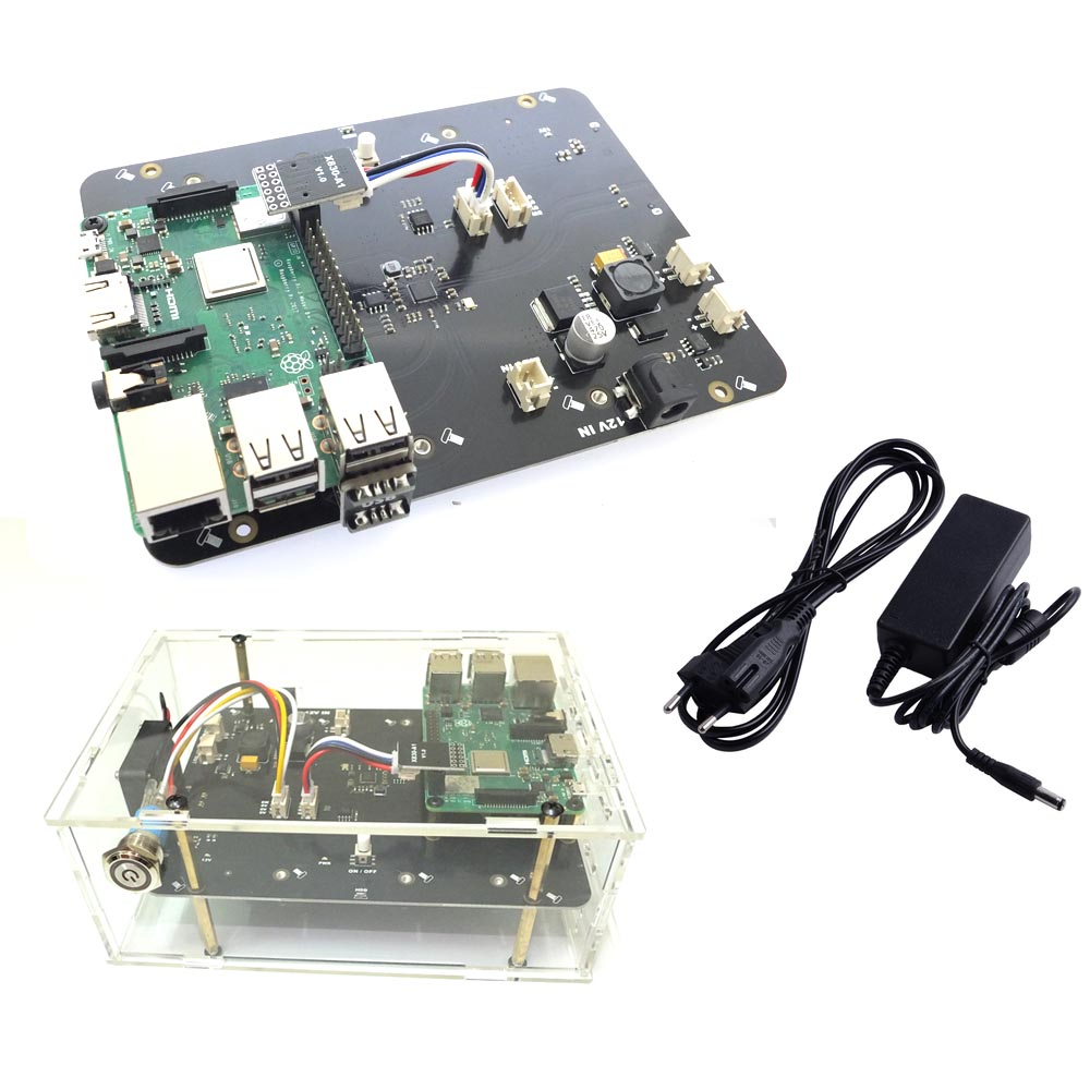 Raspberry Pi 2 3 B + Plus/3B X830 V2.0 HDD Expansion Board W/Veilig Shutdown Functie, 3.5