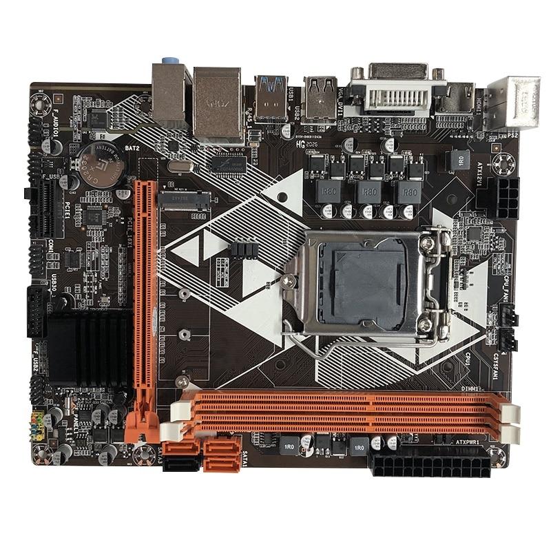 B85 компьютерная материнская плата LGA 1150 Pin поддерживает M.2 интерфейс жесткого диска DDR3 Двухканальный для I3 I5 I7 CPU