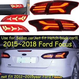 1 комплект 2015 ~ 2018 год задний фонарь для фокуса задний фонарь автомобильные аксессуары светодиодный DRL Taillamp для фокусировки противотуманных ...