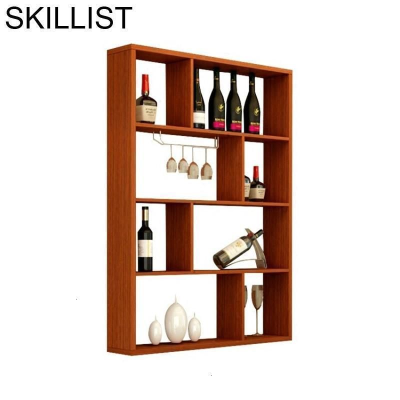 Salon Mesa Cocina Kitchen Mobili Per La Casa Meja Display Storage Shelves Cristaleira Mueble Shelf Bar Furniture Wine Cabinet