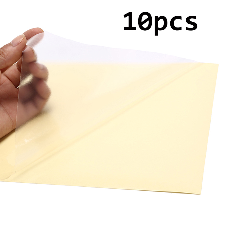 10 Sheets A4 Self Adhesive Sticker Label Matte Surface Paper Sheet For Laser Inkjet Printer Copier Craft Paper