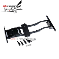 1/10 CNC Support Chassis Aluminum Frame Beam Chassis Brace for AXIAL SCX10 90027 SCX10 II 90046 90047 D90