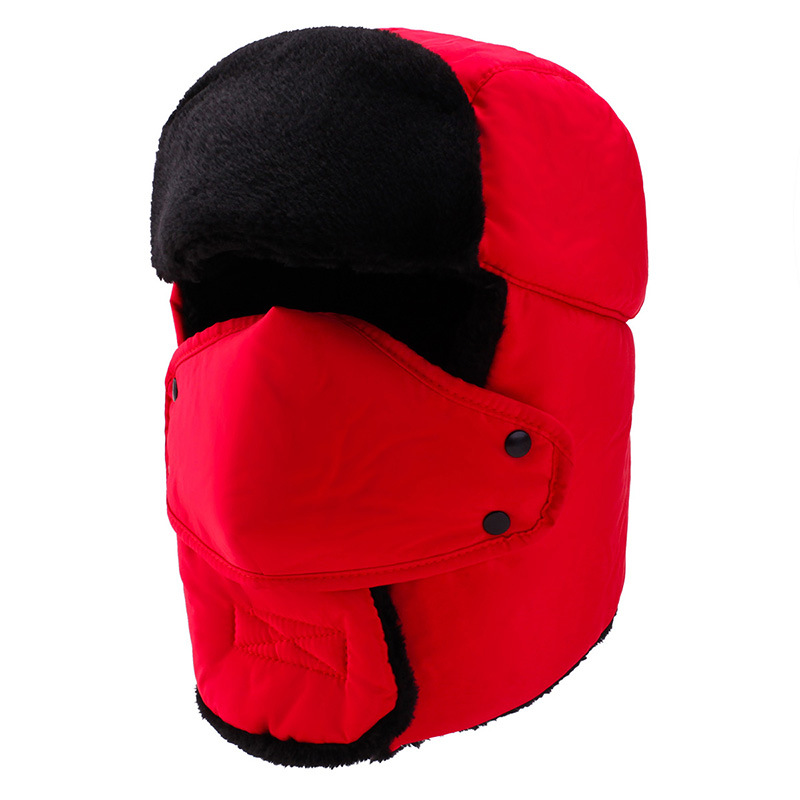 Hat Ushanka Winter New-Style Women's And Cycling-Head-Guard Deconstructable-Masks Wind-Resistant-Hat