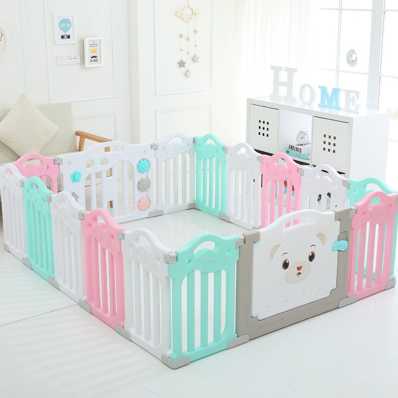 Baby Spliced Playpen Indoor Baby Fence For Ball Pool Stable Safe Game Fence For Kids Playground Patchwork Children Park Yard