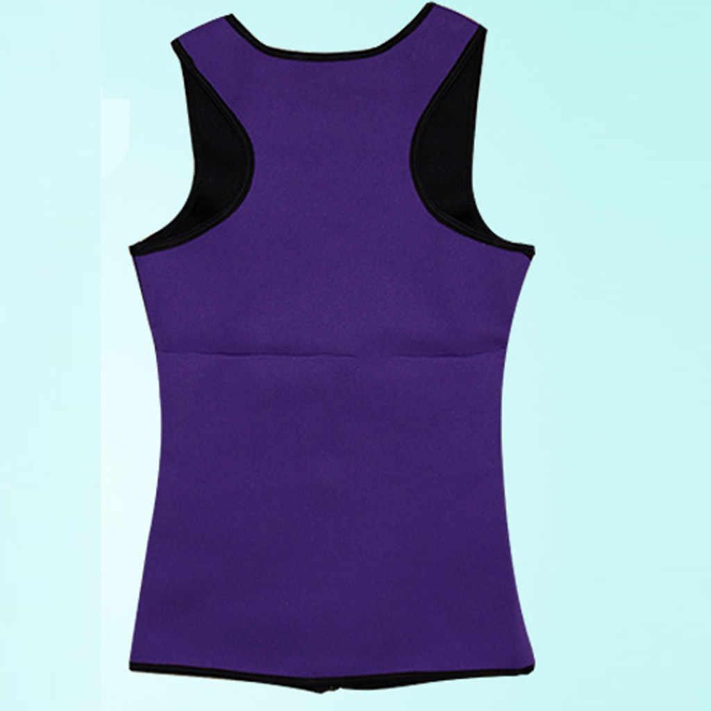 2020 ใหม่ผู้หญิงเหงื่อ Body Slimming เสื้อกั๊ก Neoprene Body Shaper Corset เอวเทรนเนอร์ Belly FAT Burning ลดน้ำหนักออกกำลังกายรัดตัว