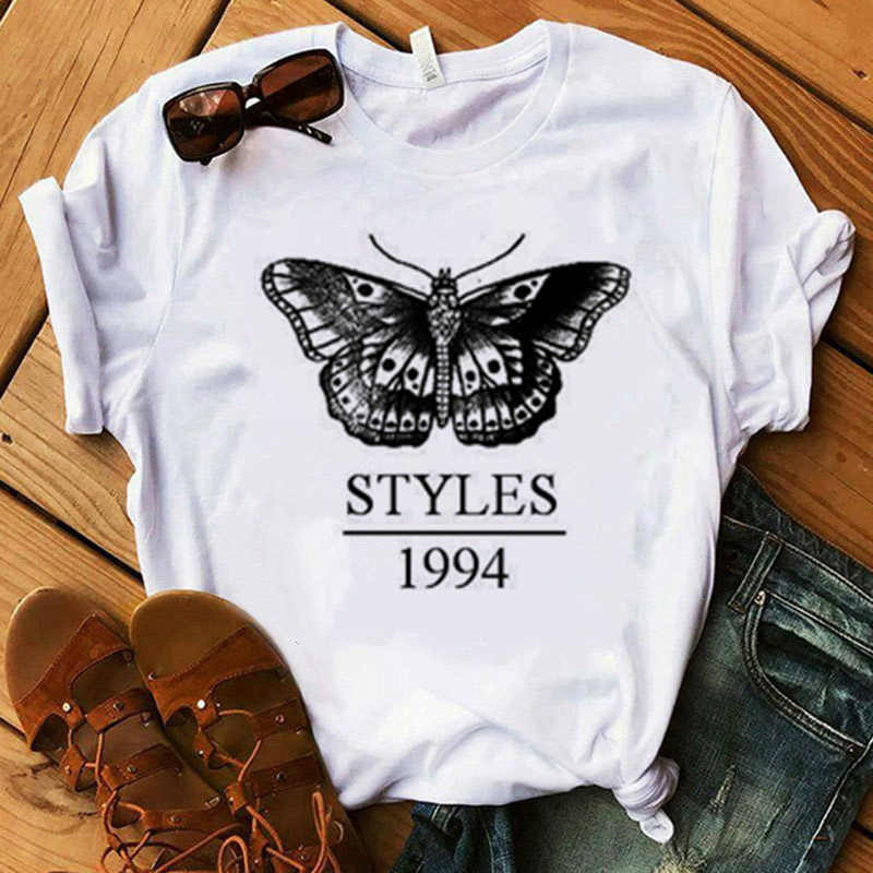 Harry Stijlen T-shirt Vrouwen Zomer Mode Tops T-shirts Korte Mouw Ronde Nack Shirts Leisure Top Tee Casual Dames T-shirt