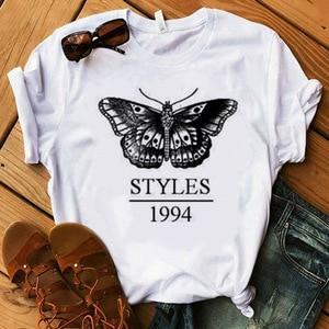 Harry Styles T Shirt Women Summer Fashion Tops TShirts Short Sleeve Round Nack T-Shirts Leisure Top Tee Casual Ladies Tshirt