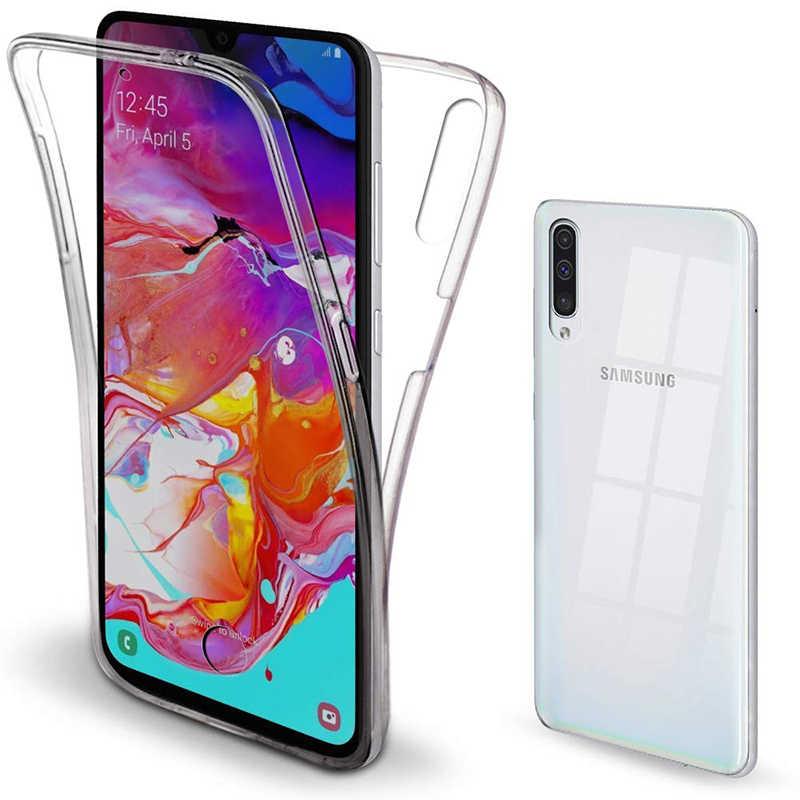 Чехол для телефона с полным корпусом 360 для Samsung Galaxy S10 Plus S9 S8 S7 A10 A30 A40 A50 A70 M10 M20 M30 силиконовый чехол из ТПУ