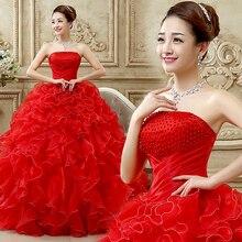 Женское платье с рюшами, без бретелек, с бусинами