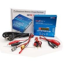 Skyrc imax B6AC V2 6A リポバッテリーバランス充電器液晶ディスプレイ放電 rc モデルのバッテリー充電再ピークモード