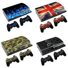 STICKER Vinyl Skin Protector console and Controllers For ps3 fat