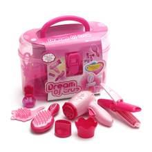 Детские ролевые игры детские игрушки для макияжа набор парикмахерских