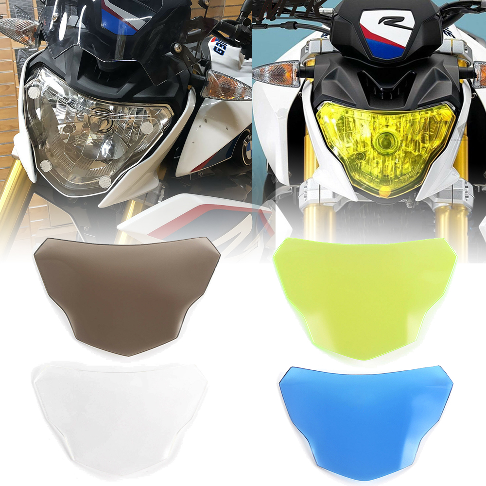 Motorbikes Accessoris G310R G310GS ABS plastic Headlight Lamp Lens Cover Protector Shield for 2017-2018 <font><b>BMW</b></font> <font><b>G</b></font> <font><b>310R</b></font> <font><b>G</b></font> 310GS 17-18 image