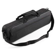 HK.LADE Wasser-Beständig Flöte Fall Oxford Tuch Gig Bag Box für Western Konzert Flöte mit Verstellbarem Schulter Gurt