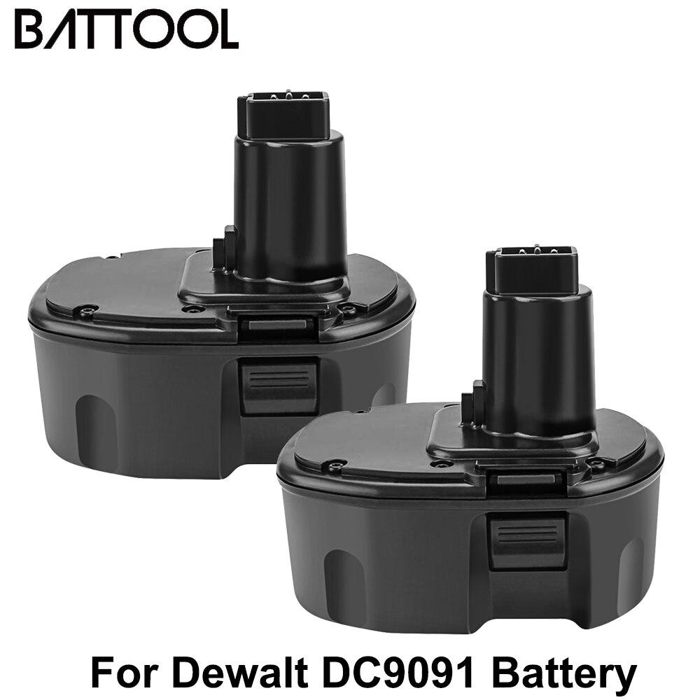 Аккумулятор Battool для Dewalt DW9091, 3500 мАч, 14,4 В, DC9091, Ni-MH, DW9091, DW9094, DC9091, DE9091, DE9092, DC613ka, DC614ka, DC615ka, DC612ka