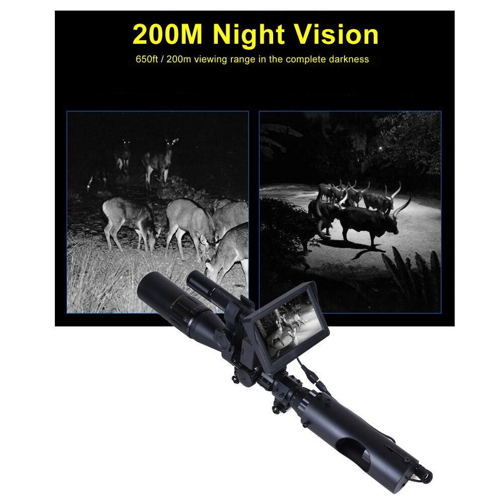850nm infravermelho led ir 200 m noite