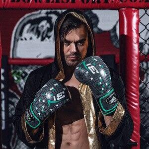 8 унций 10 унций 12 унций BN Tetris элементы кикбоксинга Перчатки MMA фитнес PU Boxeo Free Fight Муай Тай тренировочные Боксерские перчатки для пробивки