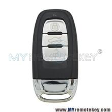 A4 A6 Q5 SQ5 Smart car key case include key insert 8T0959754C for Audi
